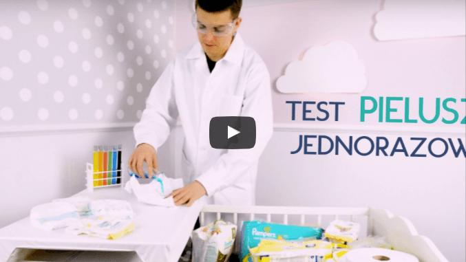 Test pieluszek jednorazowych