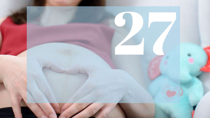 27 tydzień ciąży