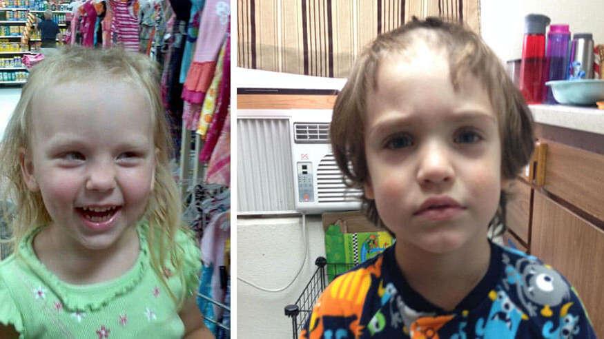 11 dzieciaków, które postanowiły zabawić się w fryzjera