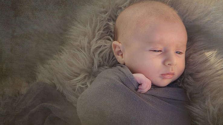 Kręcz szyi u niemowląt