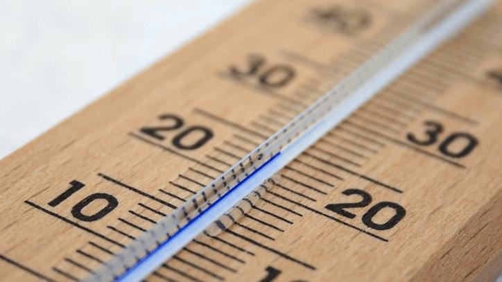 Temperatury wokół noworodka