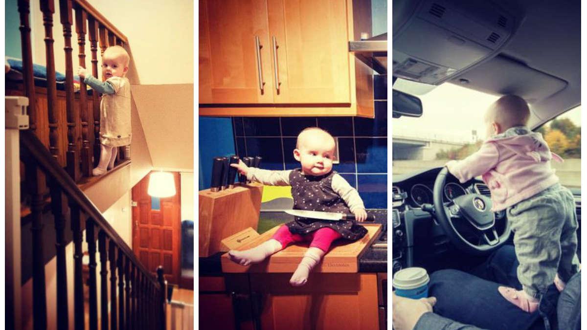 Te zdjęcia mogą przyprawić o zawał serca. Zobacz fotografię dziecka w ekstremalnie niebezpiecznych sytuacjach!