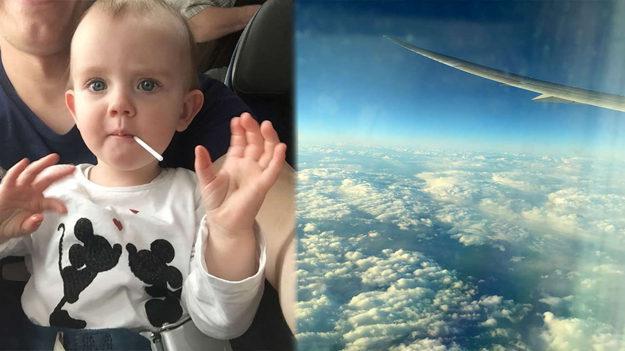 Dziecko w samolocie: Jak przetrwać długą podróż samolotem z dzieckiem?