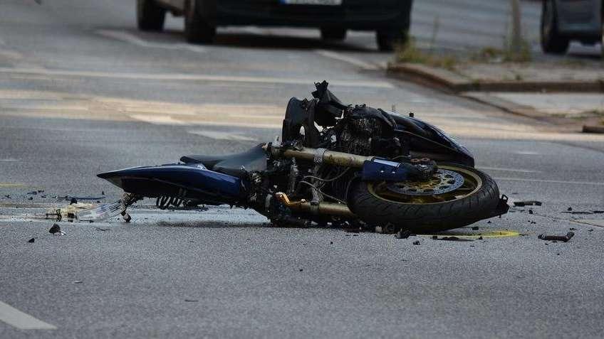 Nie żyje czterolatek, którego tata przewoził motocyklem