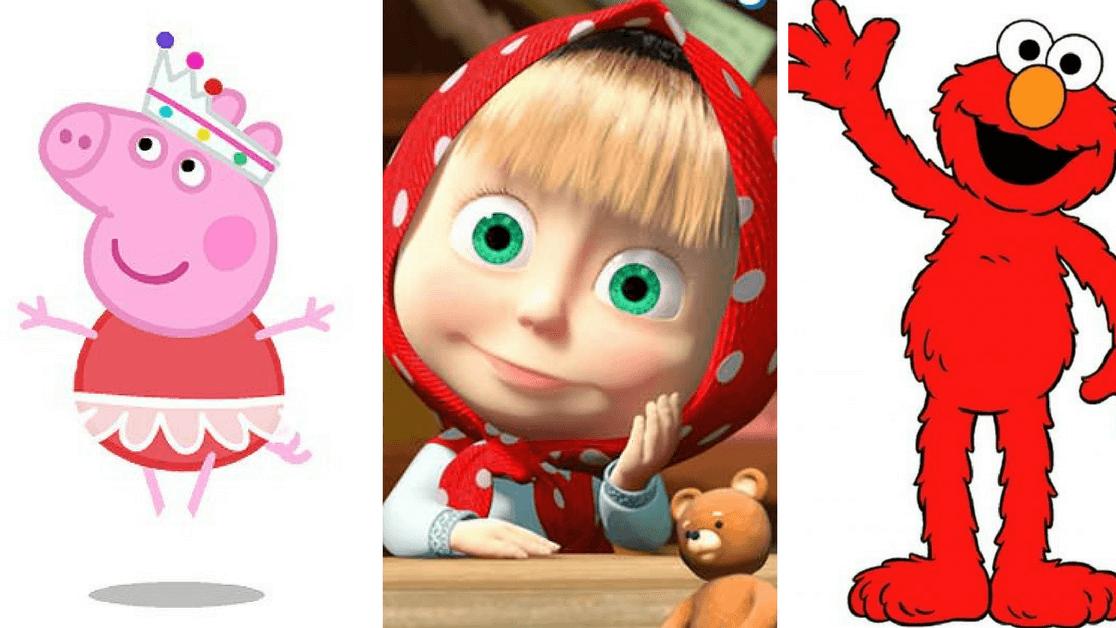 Peppa, Masza, Domisie… Te bajki dzieci oglądają na okrągło