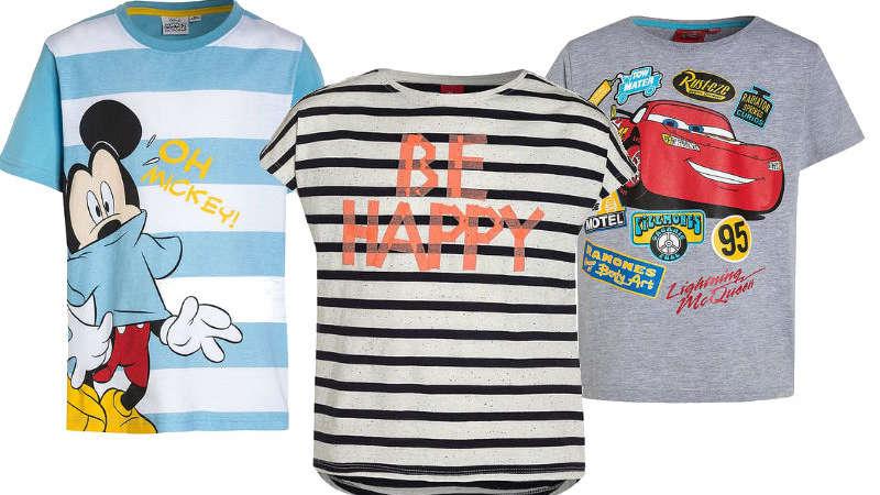7 t-shirtów na lato, które Twoje dziecko pokocha!