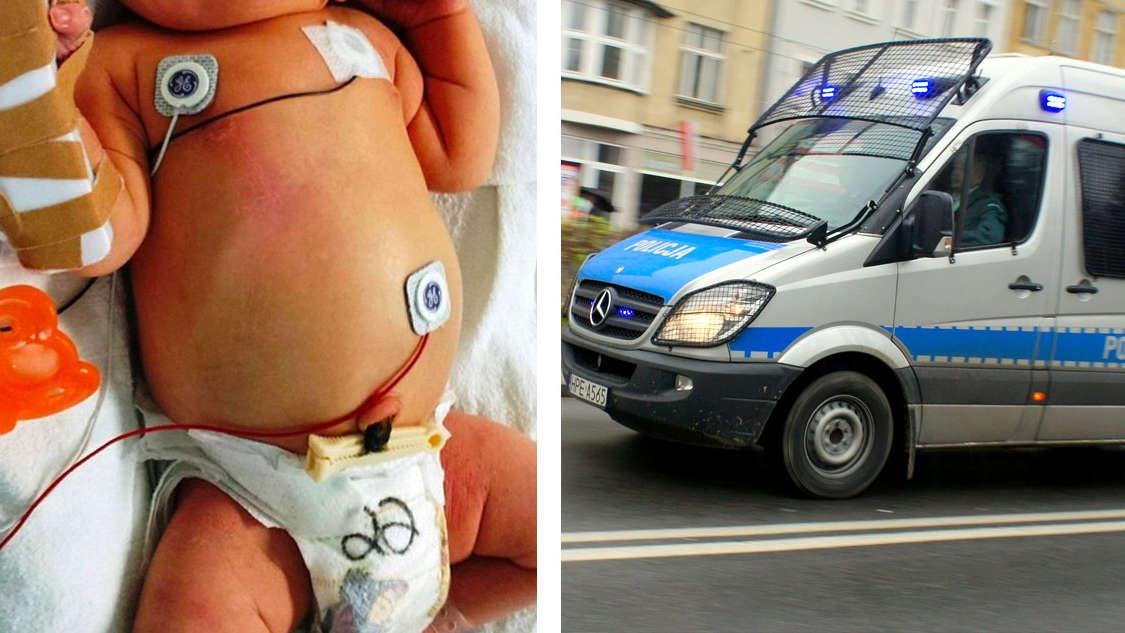 [Łódź] Rodzice rzucali w siebie niemowlakiem.  Grozi im do 5 lat więzienia!