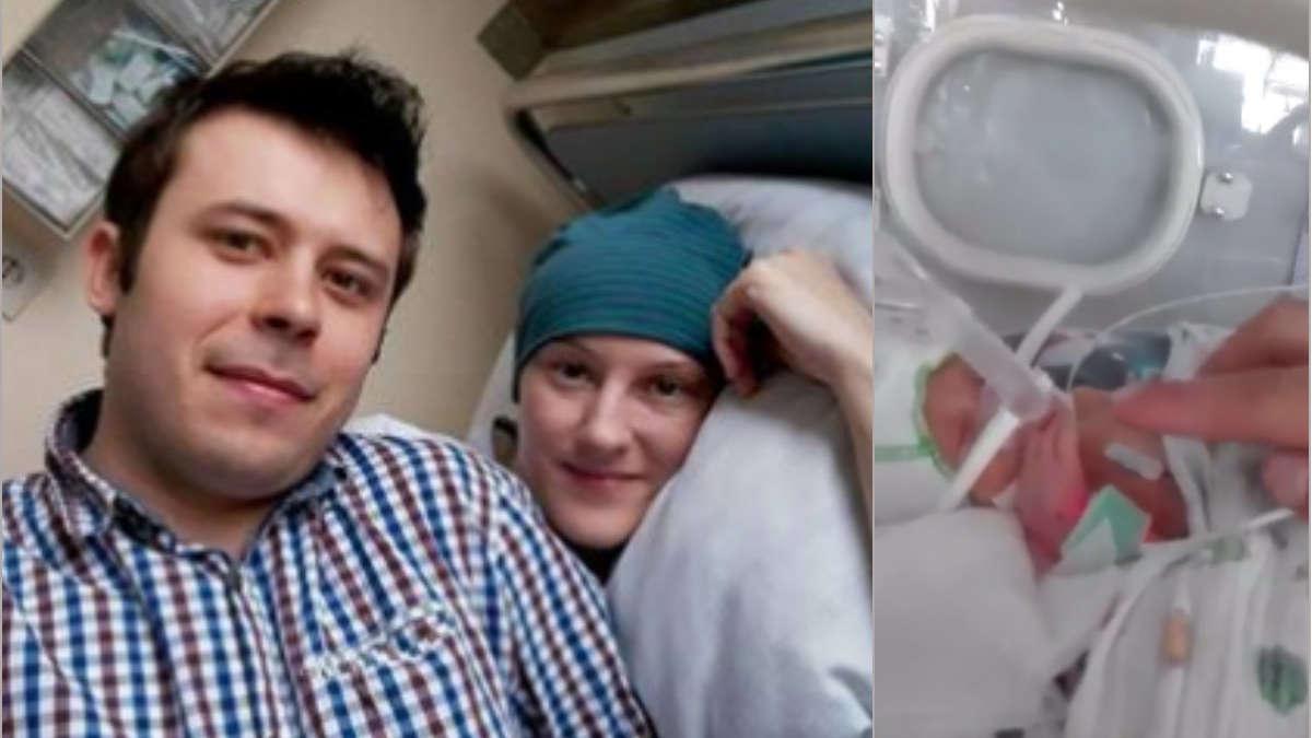 Poświęciła własne życie, by urodzić zdrowe dziecko