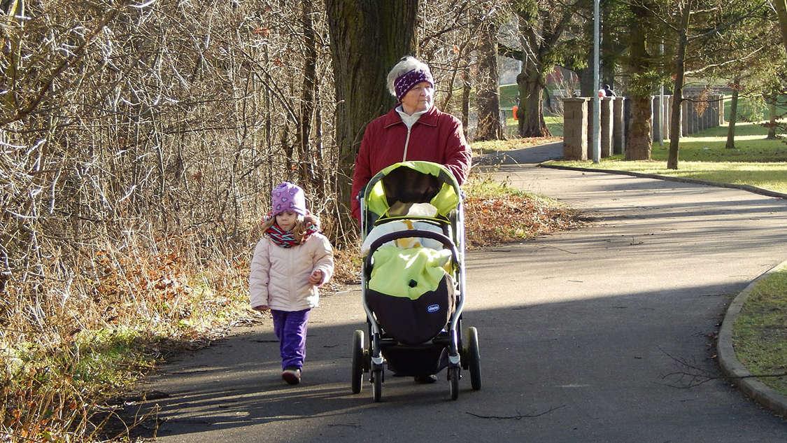 Pierwszy spacer z noworodkiem jesienią + Werandowanie