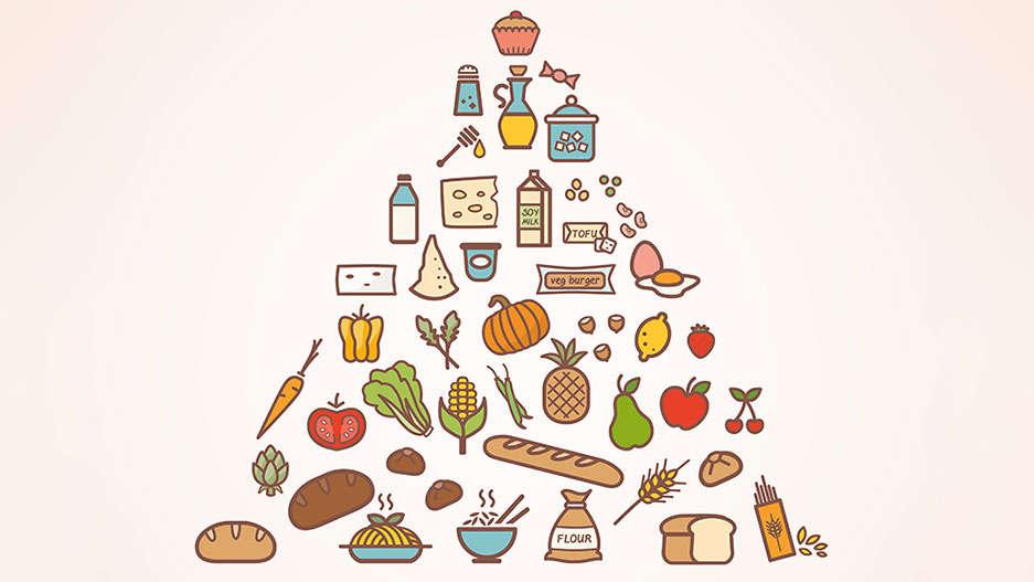 Piramida żywieniowa dla dzieci: Zdrowie zamknięte w piramidzie