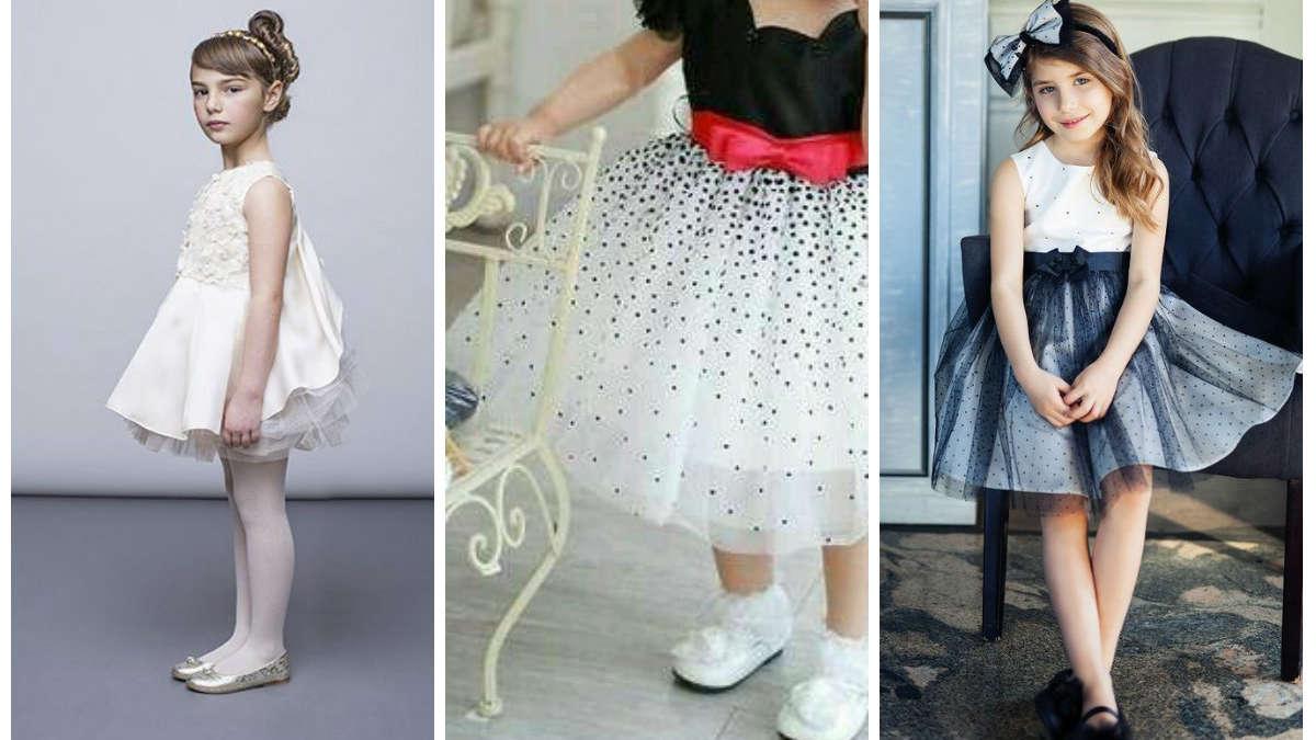 Sukienki balowe dla dziewczynek: najpiękniejsze propozycje z internetu