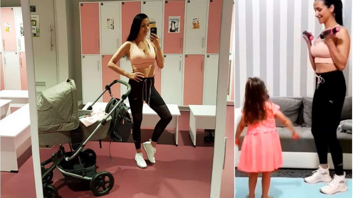 Mama na siłowni nie zawsze mile widziana… A Wy chcecie ćwiczyć z mamami?
