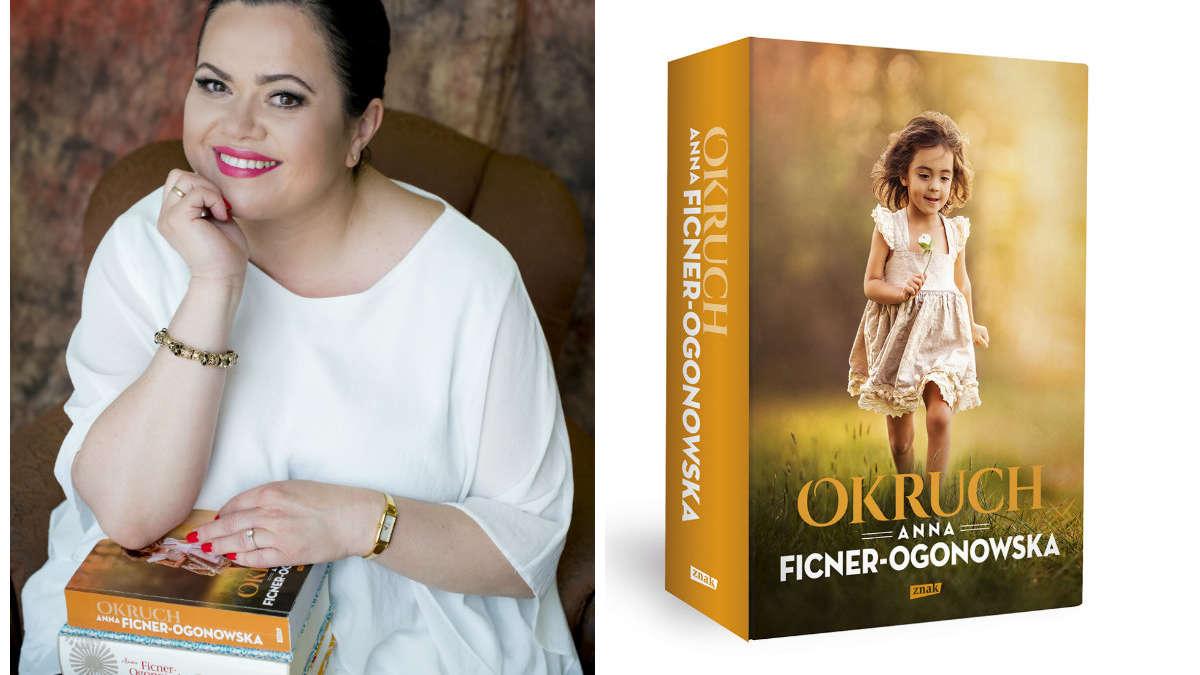 """Wierzę w miłość i energię, którą wyzwala – mówi Anna Ficner-Ogonowska, autorka książki """"Okruch"""""""