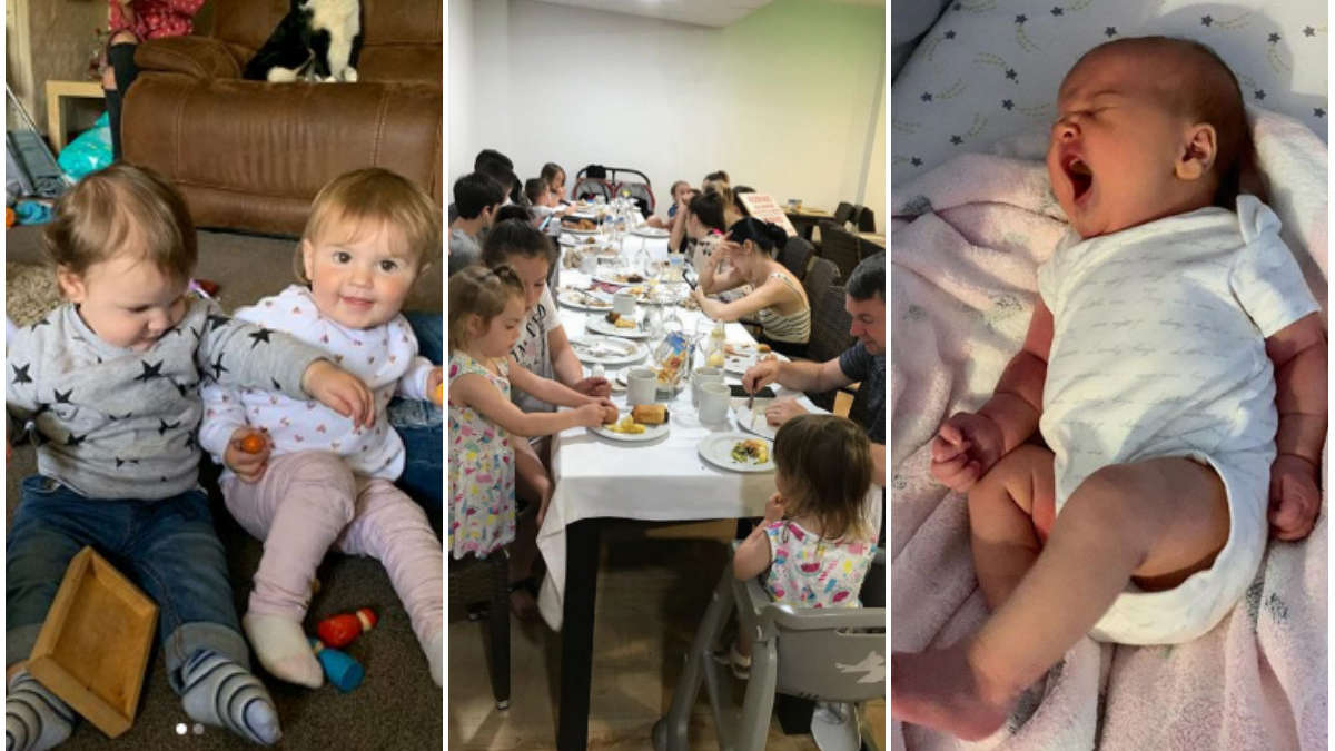Właśnie powitali na świecie 21 dziecko. Jak wygląda życie z taką gromadką?