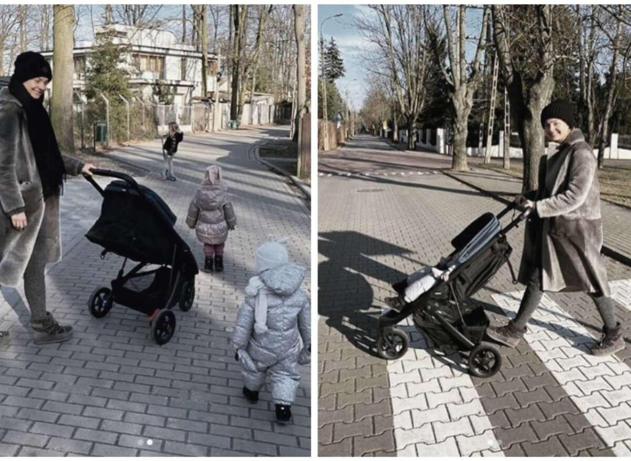 Małgorzata Socha na spacerze z dziećmi chwali się nowym wózkiem. Cena? Będziecie zdziwieni!