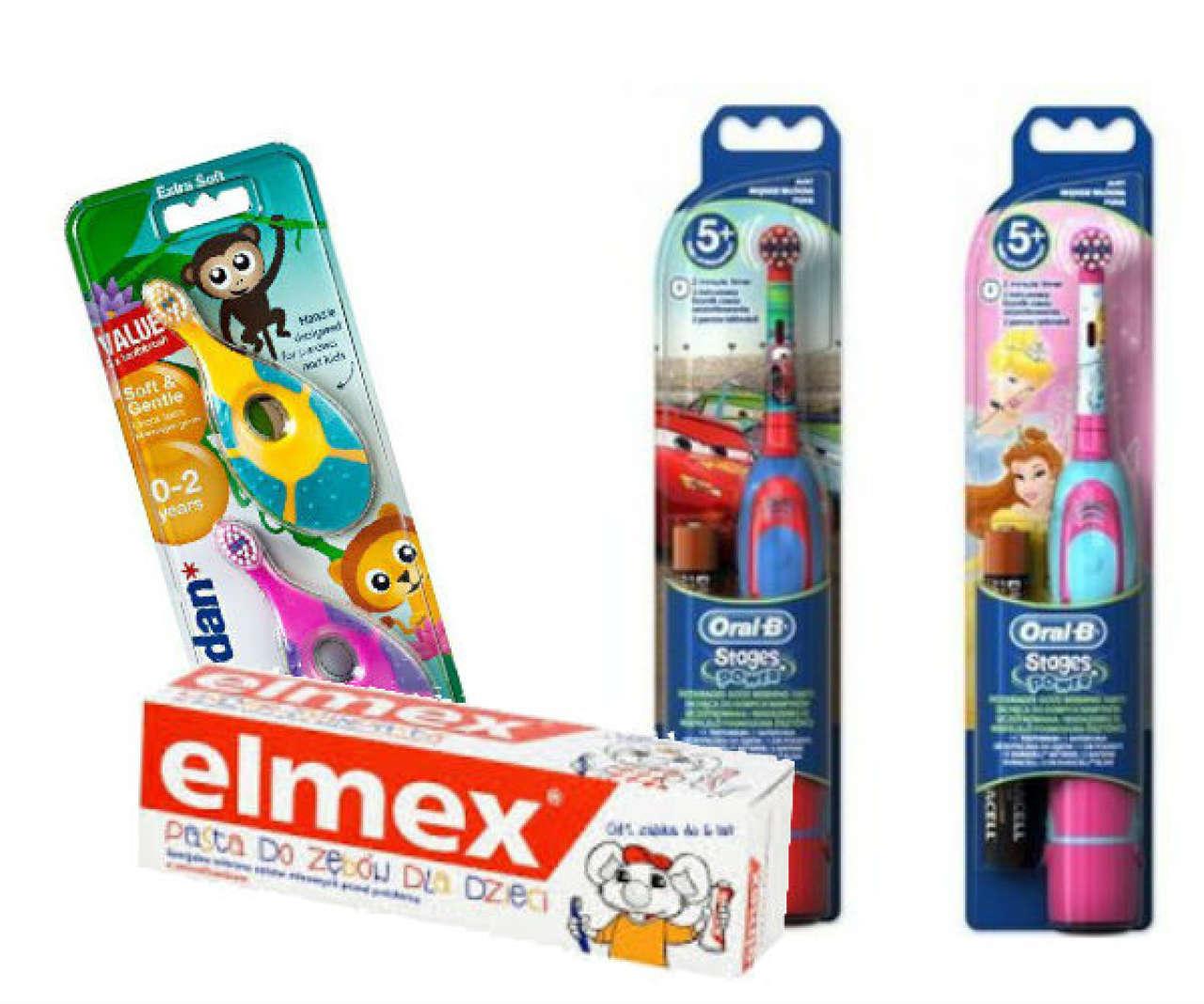 szczoteczka i pasta dla przedszkolaka - wyprawka