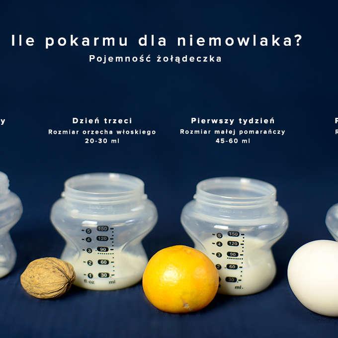 karmienie mieszane: ile mleka modyfikowanego dla noworodka?