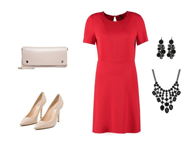 Dodatki Do Czerwonej Sukienki Rodzicepl