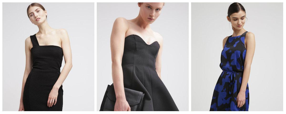 Jakie rajstopy do czarnej sukienki?