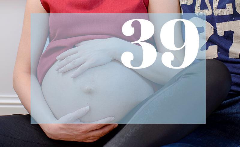39 tydzień ciąży