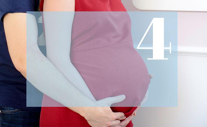 4 miesiąc ciąży
