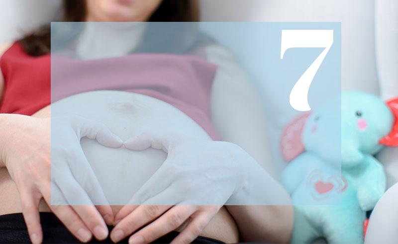 7 tydzień ciąży