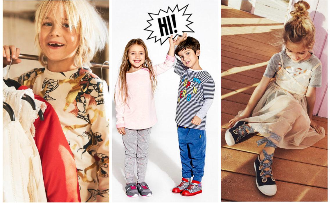 PRZEGLĄD: Ubrania dla dzieci z popularnych sieciówek [H&M, RESERVED, ZARA KIDS]