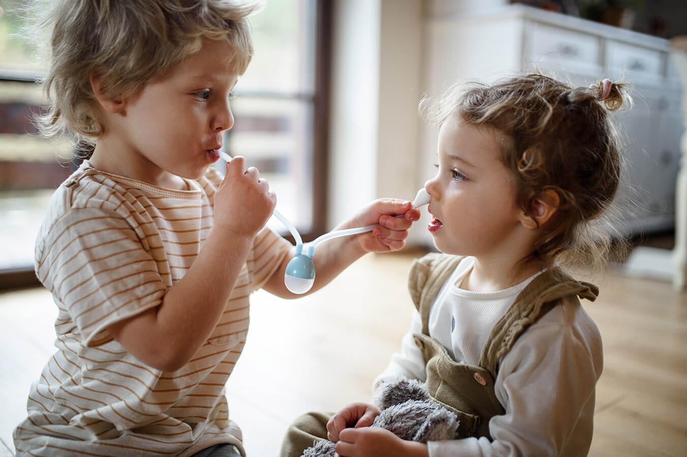 Pierwszy katarek, czyli kiedy niemowlę zaczyna oddychać ustami…