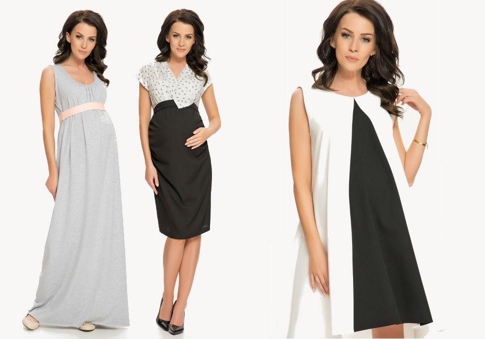 ciążowe sukienki 9Fashion
