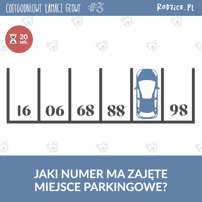 Zagadka - parking
