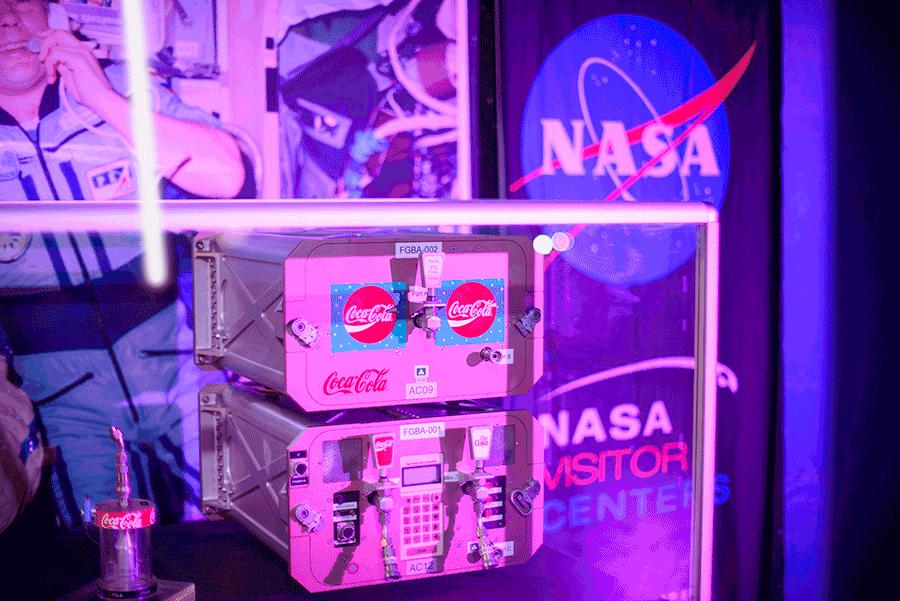 Coca Cola w kosmosie