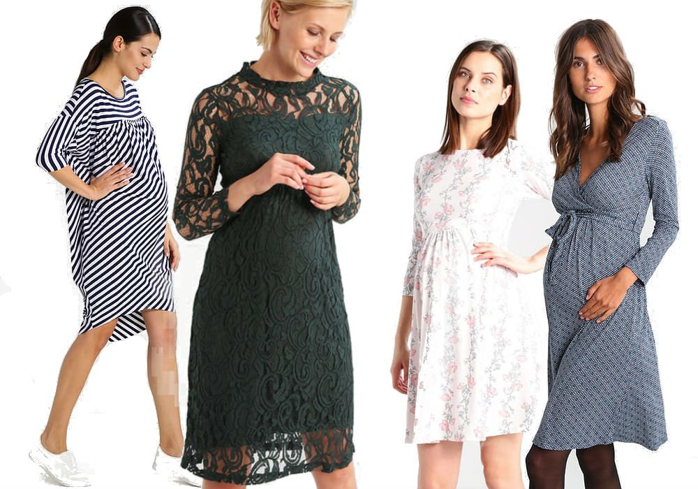 Eleganckie sukienki ciążowe z Zalando