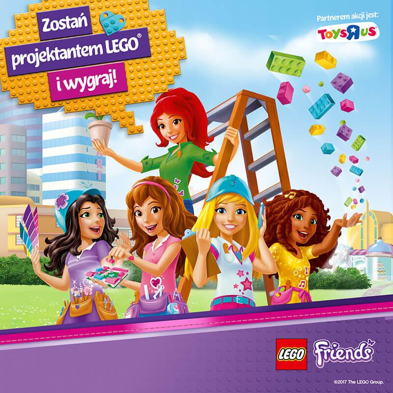 LEGO® FRIENDS! WIELKI KONKURS DLA DZIECI