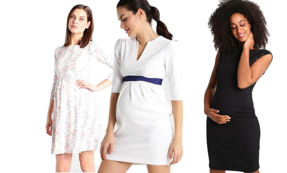 sukienki ciążowe na wesele