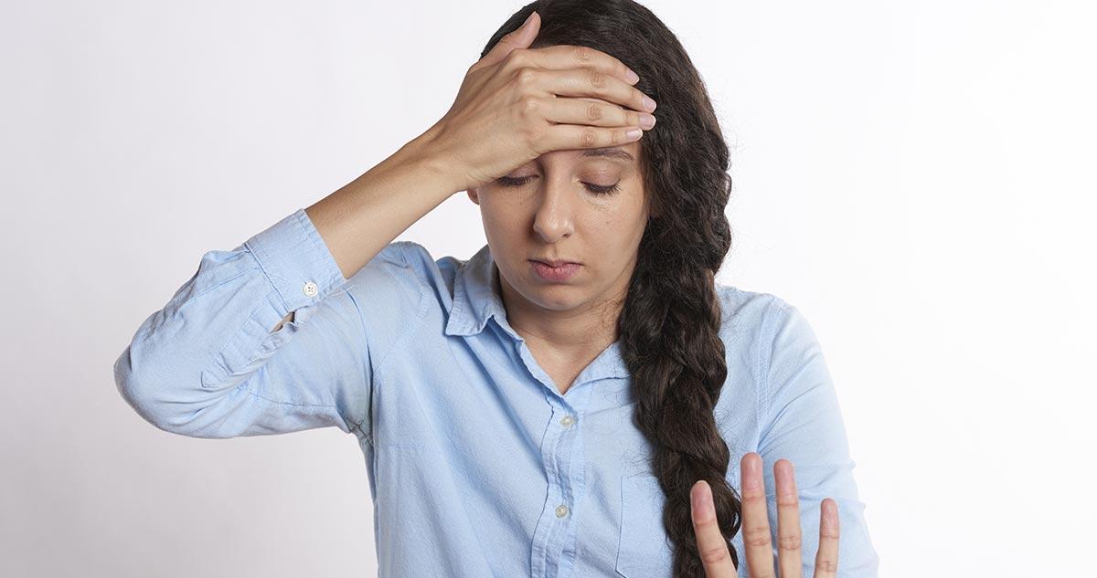 Ból głowy w ciąży