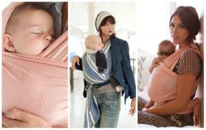chusta do noszenia niemowląt