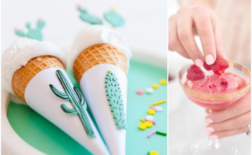 jak zrobić domowe lody?