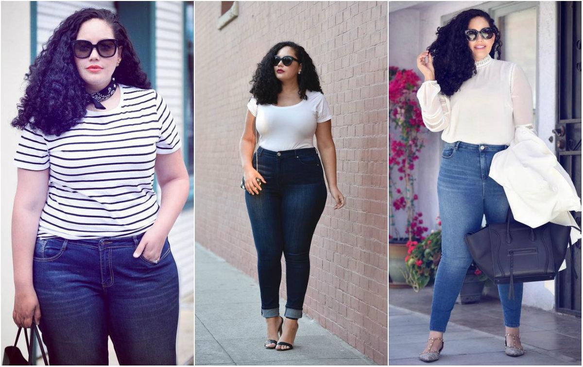 Jeansy dla puszystych: modele, które cię wyszczuplą