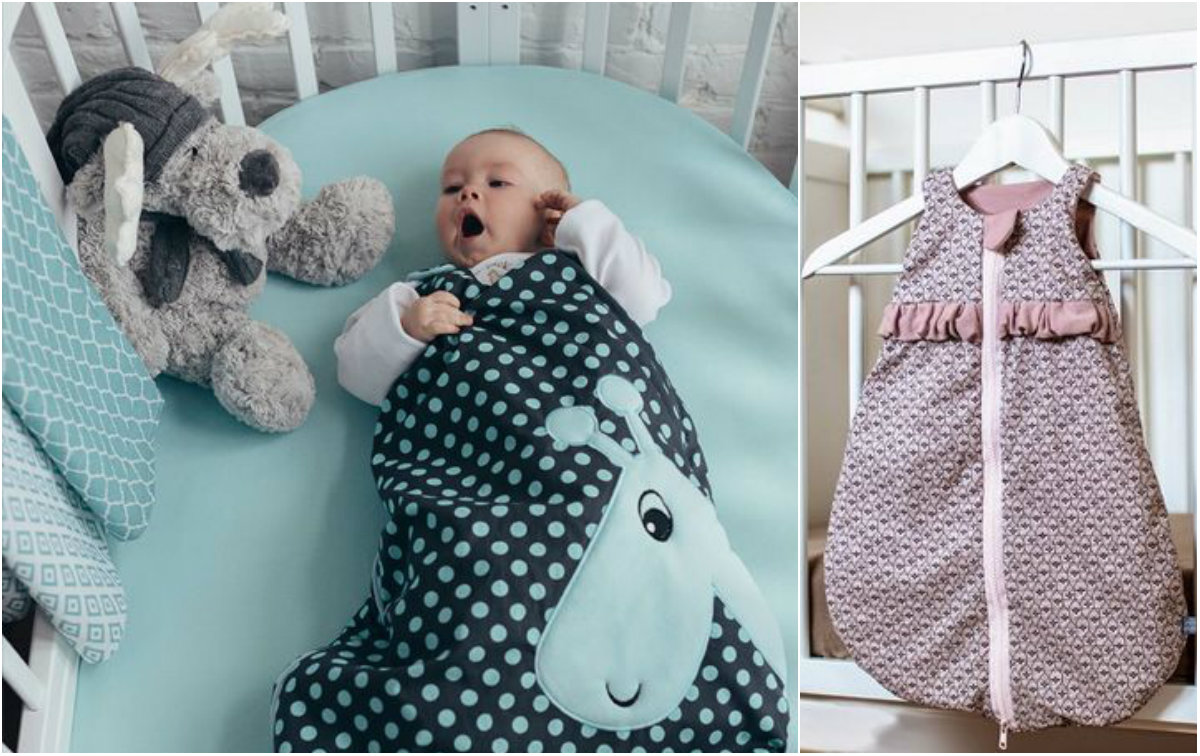 Śpiworek do spania: genialne rozwiązanie dla rozkopujących kołdrę maluszków