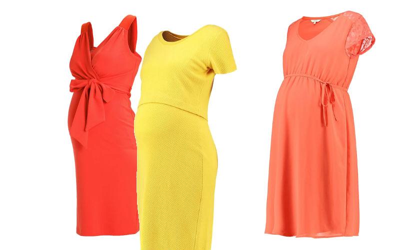 sukienki wiosenne dla ciężarnych