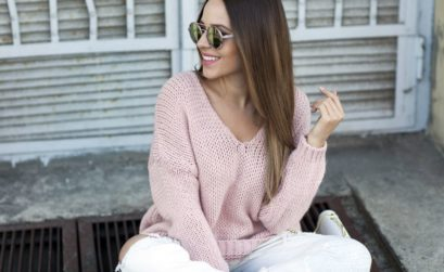 sweter oversize