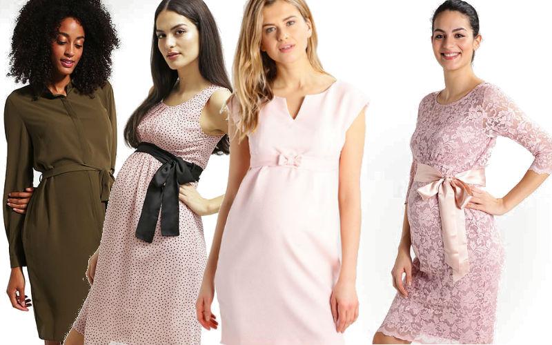 Wiosenne sukienki dla ciężarnych