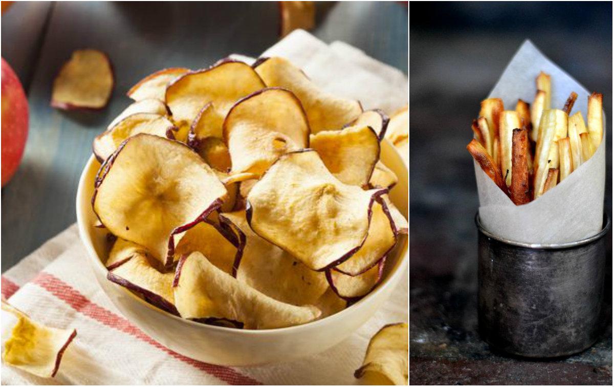 Jak zrobić zdrowe chipsy?