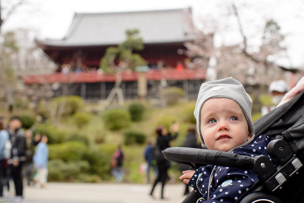Wycieczka z dzieckiem do Japonii