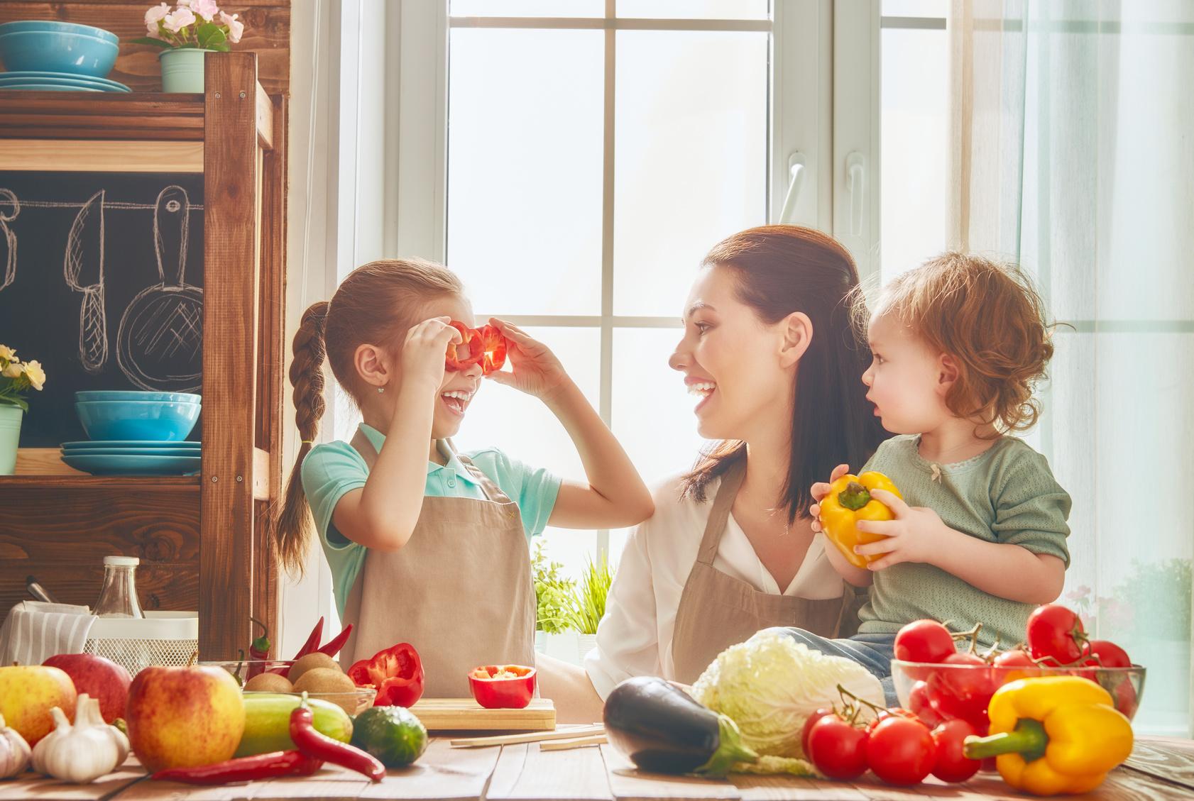 Jak zaangażować dzieci w kuchni?