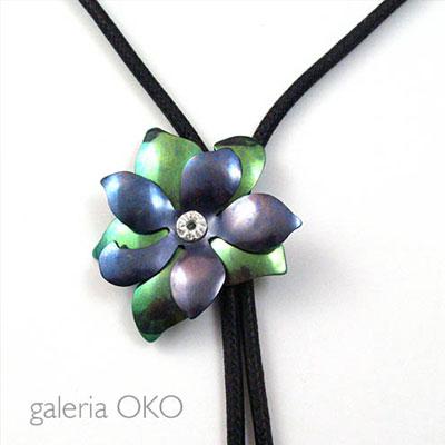 Biżuteria w kwiaty - Wisior