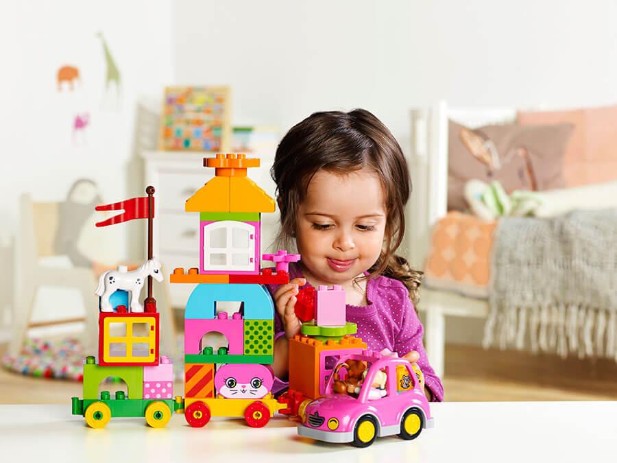 Klocki LEGO Duplo dla dziewczynek