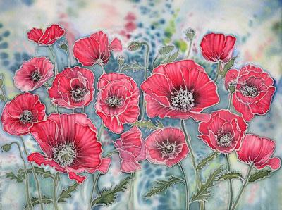Obraz z kwiatami na dzień matki