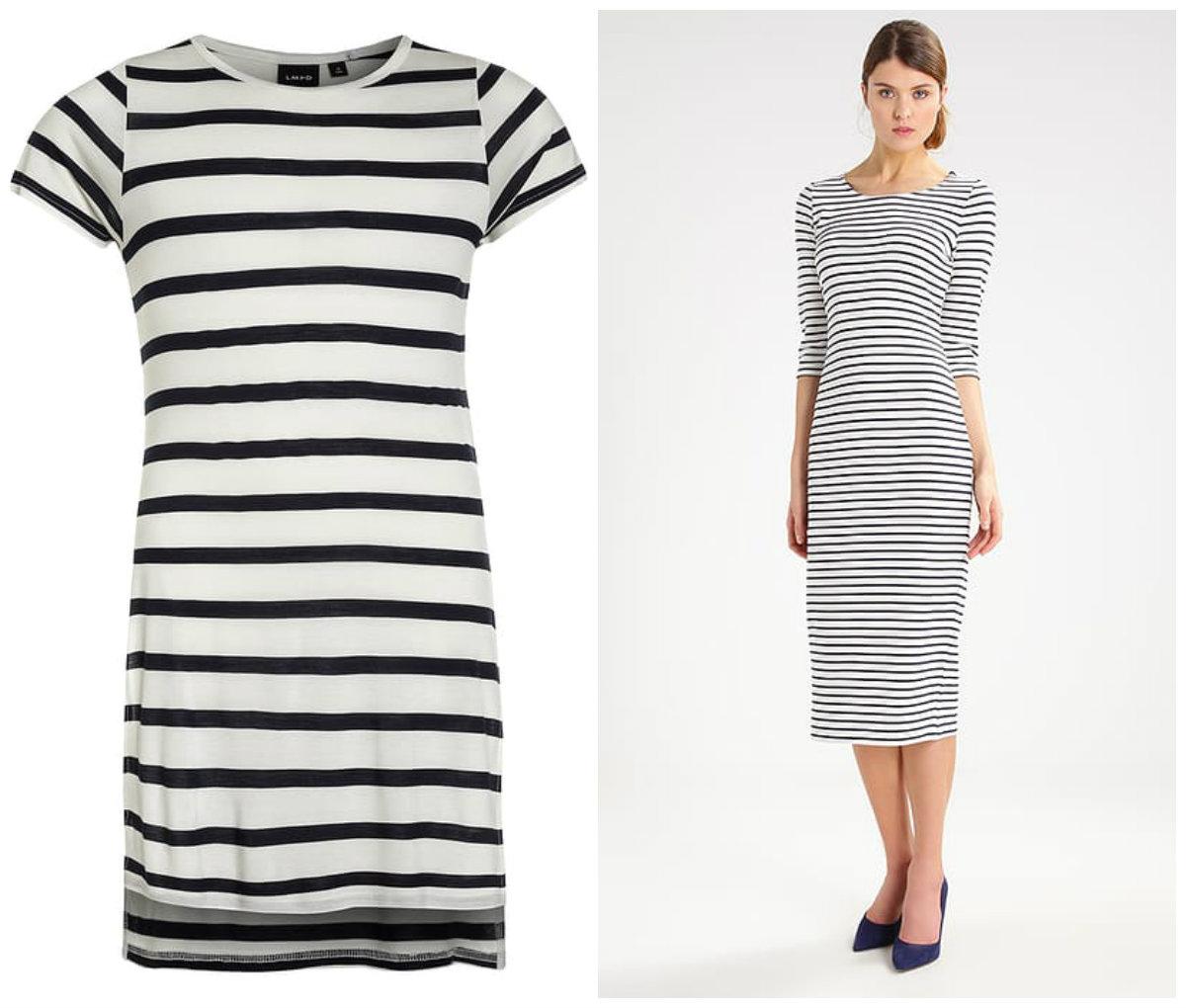 4d61a78695 Biała sukienka w paski Esprit  KLIK  dla mamy i mniejsza dla dziewczynki od  marki Name It  KLIK  nie są w prawdzie identyczne