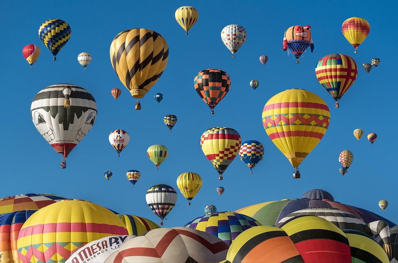Lot balonem dla taty